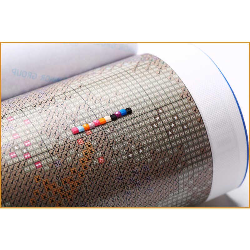 Plein carré diamant broderie Toucan oiseau Animal plein rond diamant mosaïque 5D bricolage diamant peinture point de croix Stickers muraux