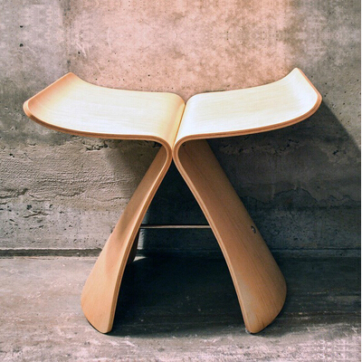 Butterfly Stool Living Room Leisure Chair Plywood Stool private villa living room chair retail