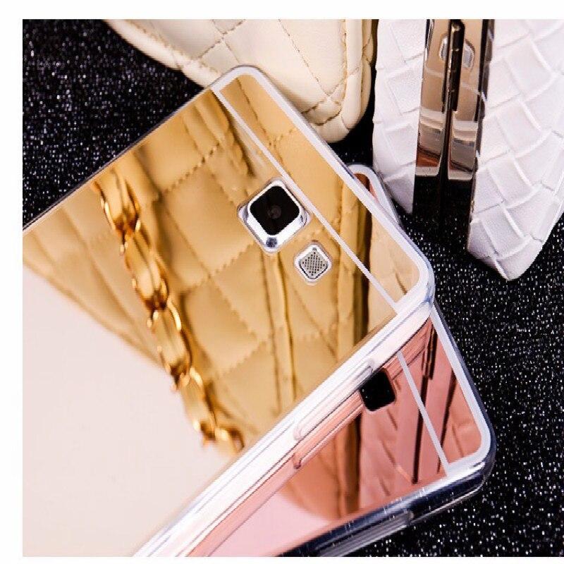 Dreamysow Transparent Soft TPU Silicone Mirror Case For Samsung Galaxy A5 A510F A5100 A3 A310 A7 A710 J1 J3 J5 J7 2016 J1 ACE