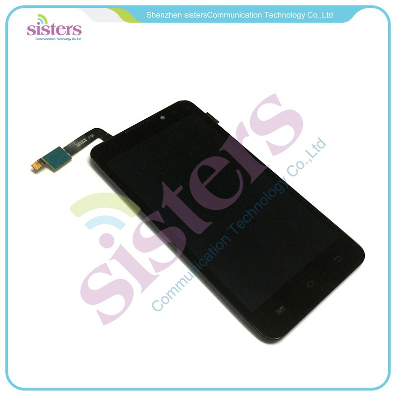 5 piezas venta al por mayor Original pantalla LCD pantalla + pantalla táctil digitalizador con marco para Coolpad F1 8297 Okami 8297 W