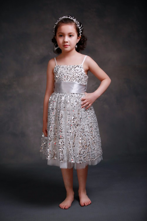 New Fashion Sequin Flower Girl Dress sling mesh princess party dresses for weddings  Lace Tutu Dresses for Girls Kids Clothing 2017 new summer girl beading dress sequin flower ruched kids party dresses weddings princess girl evening prom girl clothes