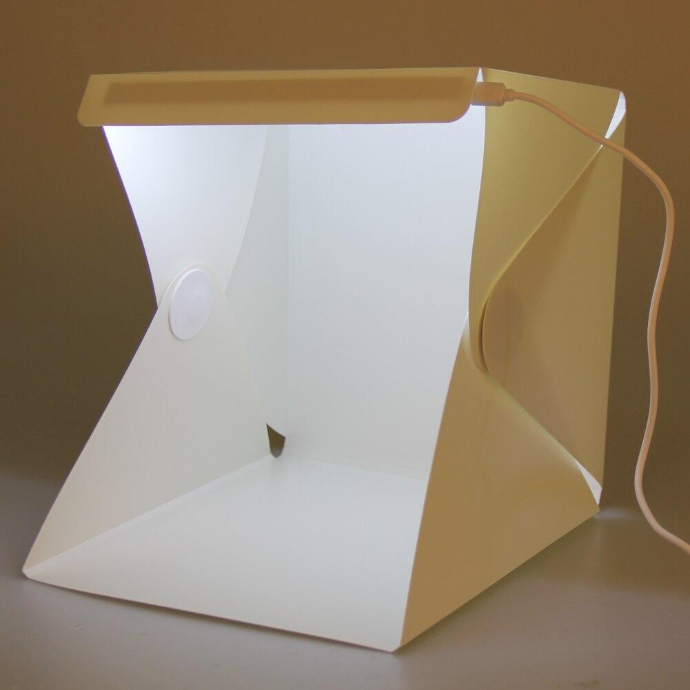 Portable font b Light b font Room Photo Backdrop Box with LED font b Light b