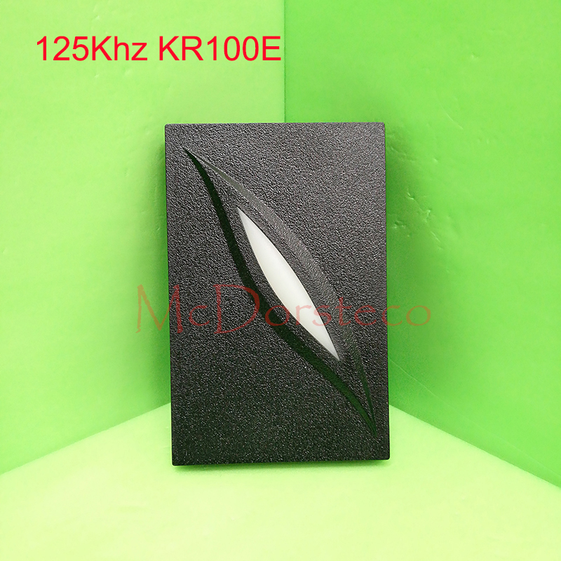 2 color LED Indicators IP65 wiegand 26 door access control 125khz RFID card proximity reader KR100E Slave Reader led indicators ip65 waterproof wiegand 26 34 door access control reader 125khz or 13 56mhz rfid reader proximity reader kr100