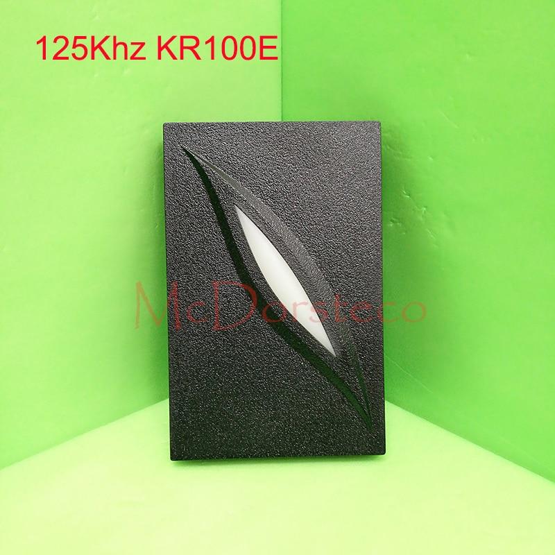 2 color LED Indicators IP65 wiegand 26 door access control 125khz RFID card proximity reader KR100E Slave Reader wiegand 26 input