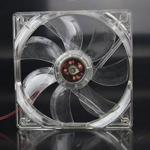 цена на 1PCS/Lot GDT 12025 12V 4P DC Blue Light 120MM 12CM 120MMx120MMx25mm PC Comptuer  LED dc fan 12v