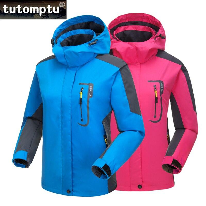 Tutomptu nouveaux vêtements de plein air pour femmes taille mince coupe-vent imperméable Camping vêtements randonnée veste équitation coupe-vent S-2XL