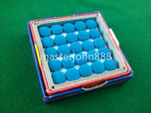50pcs Glue-on Pool Billiards Snooker Cue Tips 9mm Free Shipping Wholesales