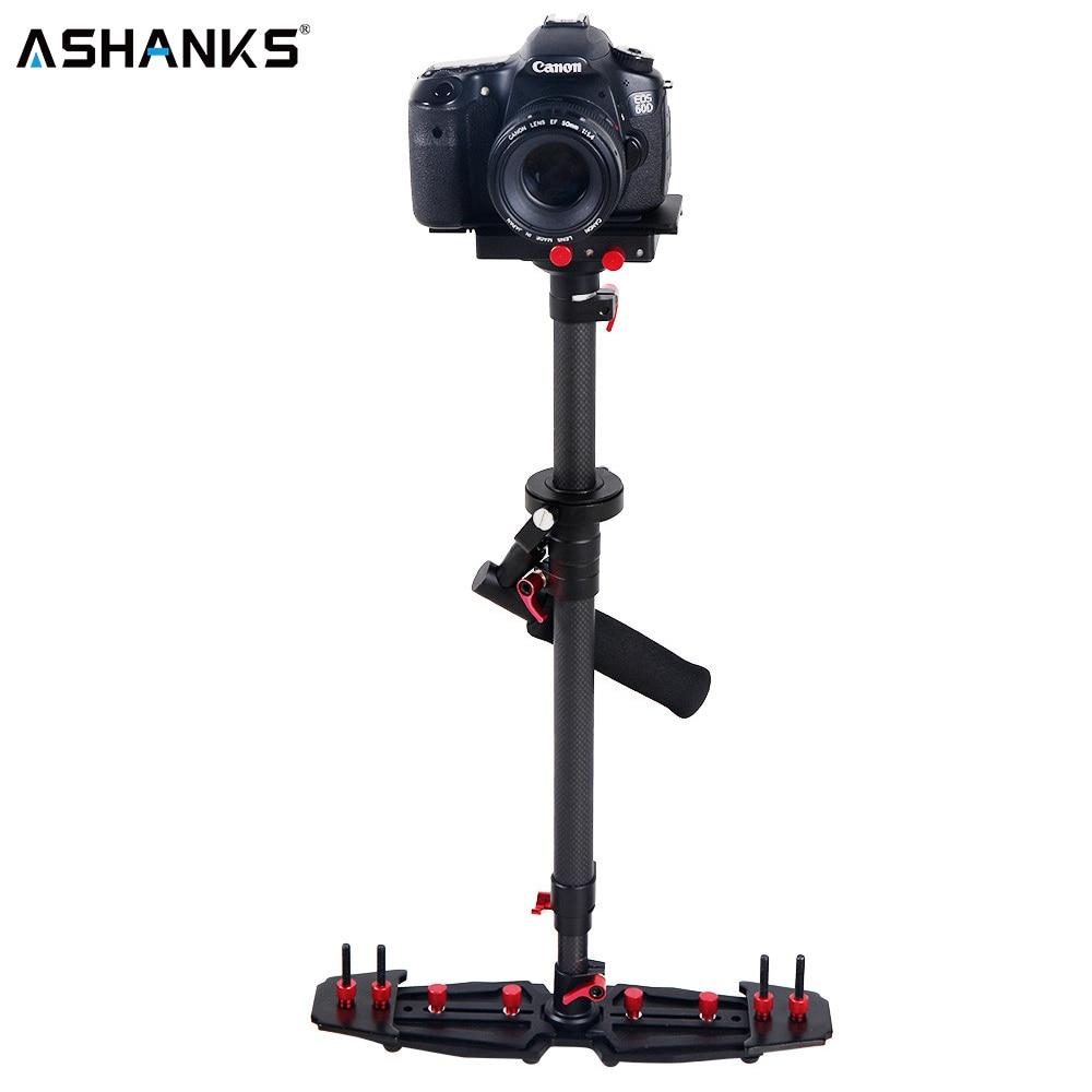 HD2000 Handheld Estabilizador para DSLR SLR filmadoras 7D 600D 700D D5200 D3200 câmera de vídeo e DVs Profissional De Fibra De Carbono