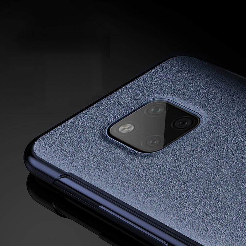Mofi For Huawei Mate 20 Pro Case Original PU Leather Clear View Smart Mirror Phone Cases Cover Mate20 Business Capa Fundas