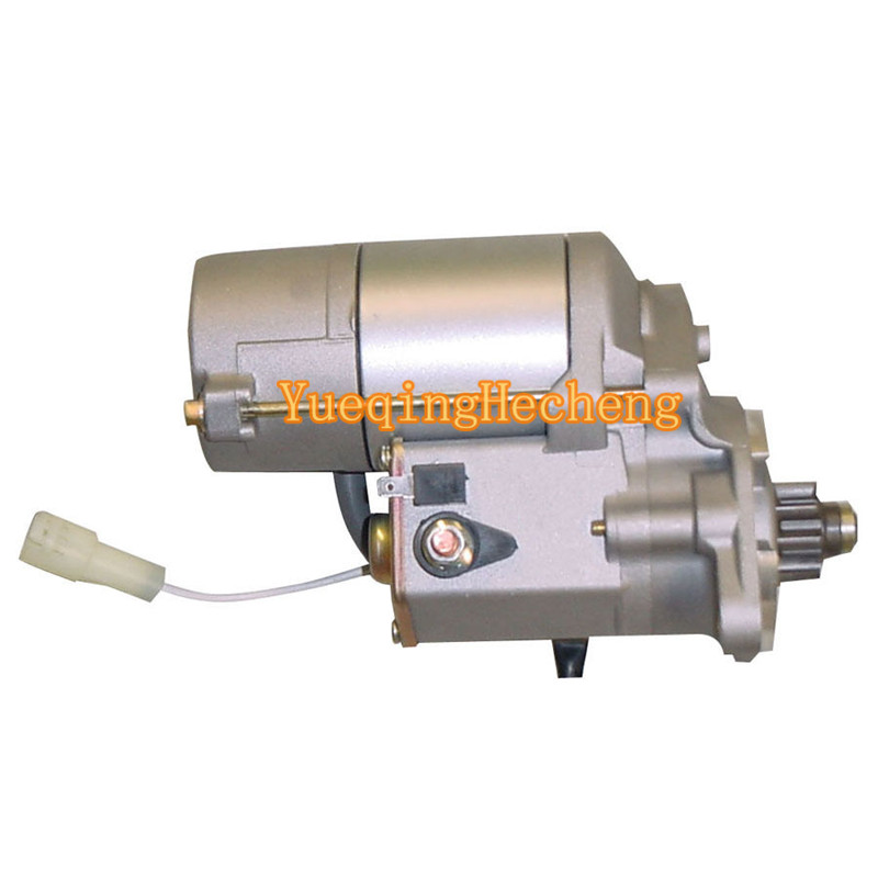 New Starter Motor 17123-63016 For Kubota 2.0KW 12V