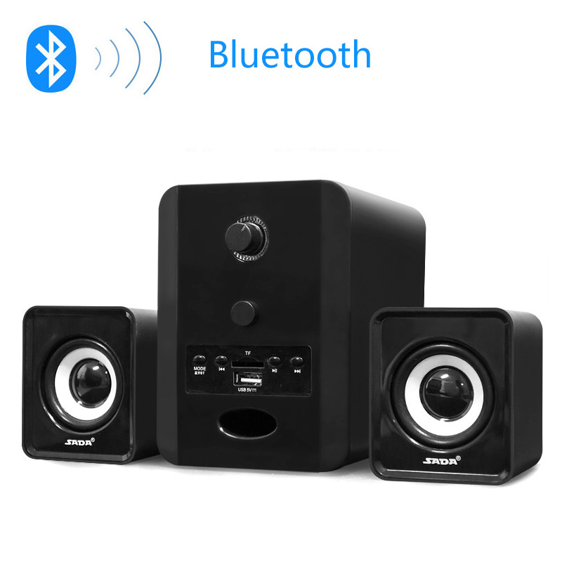 SADA D-223 Mini portabil Bluetooth TF FM USB Difuzor combinat - Audio și video portabile