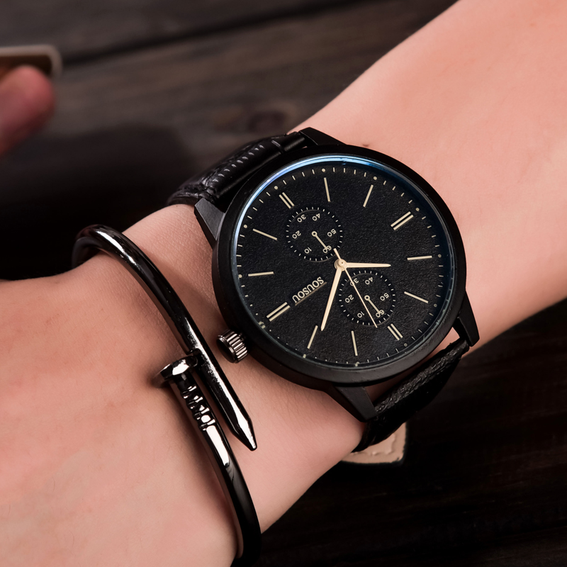 Fashion Casaul Quartz Watch Men 2016 Top Brand Luxury Famous Wristwatch Male Clock Wrist Watch Quartz-watch Relogio Masculino