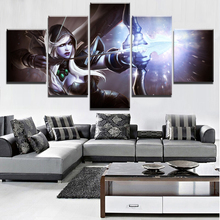 5 Pieces Paintings on Canvas Wall Art for Home Decorations Decor DOTA 2 Game For Living Room Artwork