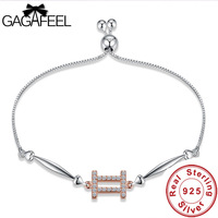 Gagafeel 100 Authentic 925 Sterling Silver Gemini Bracelets For Women Trendy 12 Zodiac Constellations Valentine S