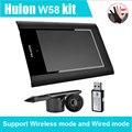 Горячие Продажи HUION графический планшет W58 8 ''Цифровой Графический Таблетки графический планшет для рисования Графический планшет для рисования планшет графический