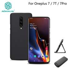 Oneplus 7 pro 6 6t Hard Matte Case Nillkin Super Frosted Shield PC Hard plastic Cover For Oneplus 7 7T cover case phone bags стоимость