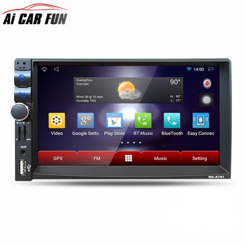 RK A701 font b Car b font DVD GPS Player 1028 600 Capacitive HD Touch Screen