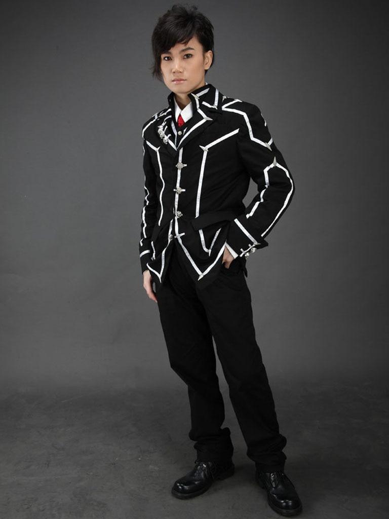Free Shipping Vampire Knight Cross Academy Day Class Boy's School Uniform Anime Cosplay Costumes requiem vampire knight vol 2