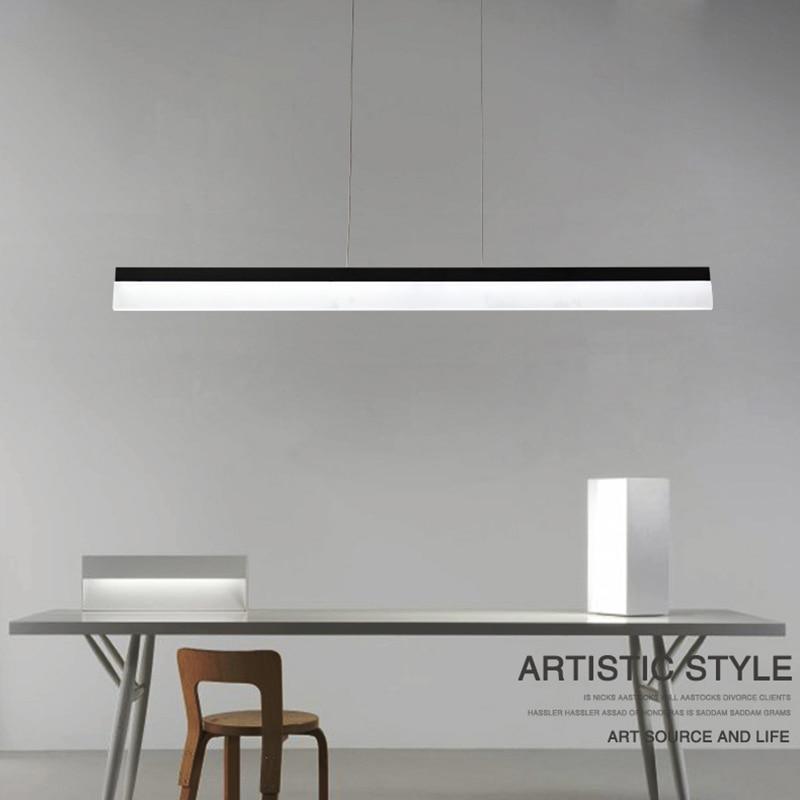 Moderne Minimalismus Büro Führte Anhänger Licht Esszimmer hängen ...
