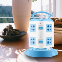USB Protector Electric Charging Multifunction Outdoor Power Strip Tower for Slot Extension Public Area for Portable Universal