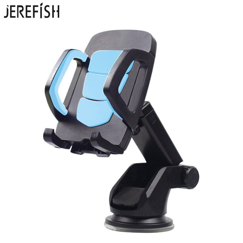 JEREFISH Universel Téléphones Titulaire Long Cou Bras De Voiture Téléphone Mobile Titulaire Stand Berceau Dock pour Pare-Brise 360 Rotation Tableau de Bord