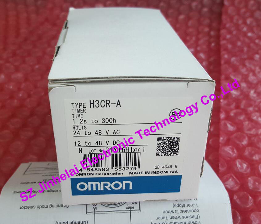 H3CR-A   24-48VAC/12-48VDC   New and original  OMRON   Time relay, Time calculator,Solid state timer new and original e3x da11 s omron optical fiber amplifier photoelectric switch 12 24vdc