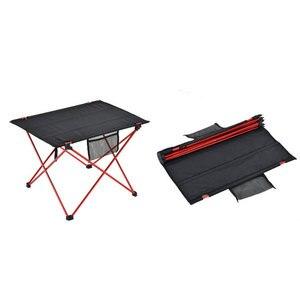 Image 5 - Tuinmeubilair Tafel Rood Vouwen Camping Tafel Licht Kleur Gewicht Ultralight Bureau Vissen Tafels Moderne Opvouwbare Meubels