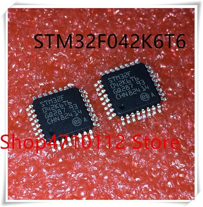 NEW 10PCS LOT STM32F042K6T6 STM32F042 STM32 F042K6T6 QFP 32 IC