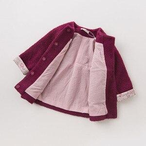 Image 5 - DB5513 dave bella herfst baby baby meisjes mode effen kleding kids peuter kleding lolvely kinderen hoge kwaliteit jas