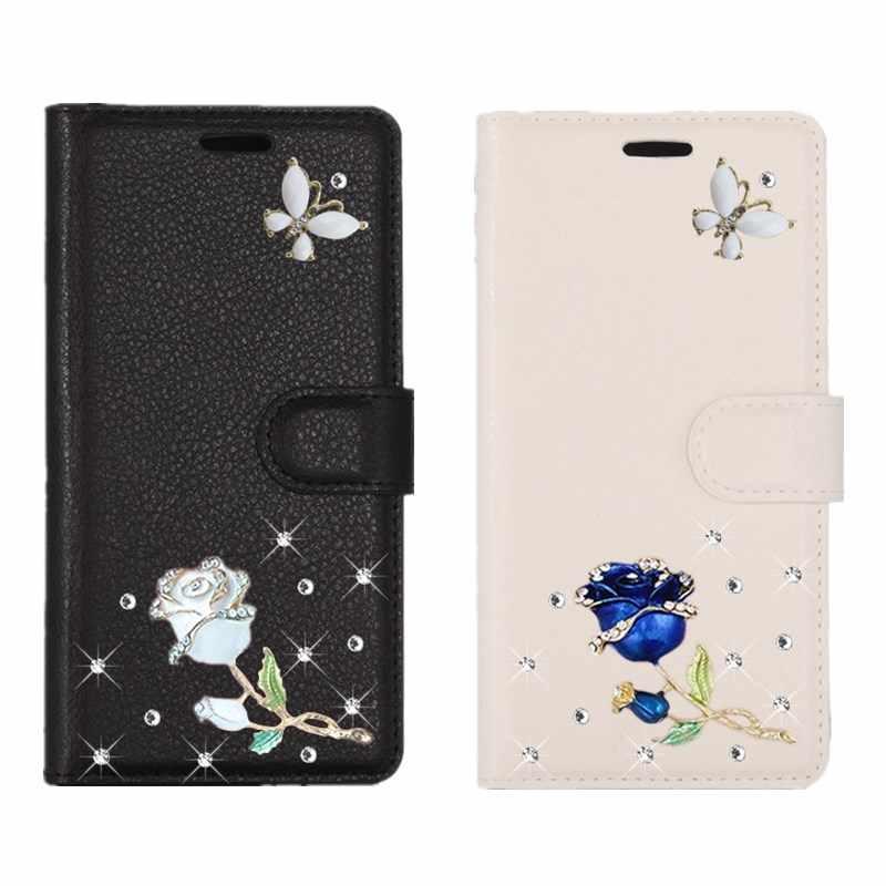Розовый кожаный откидной Чехол кошелек с подставкой для Xiaomi Redmi Note 6 pro 5 4x4 5A prime S2 4A