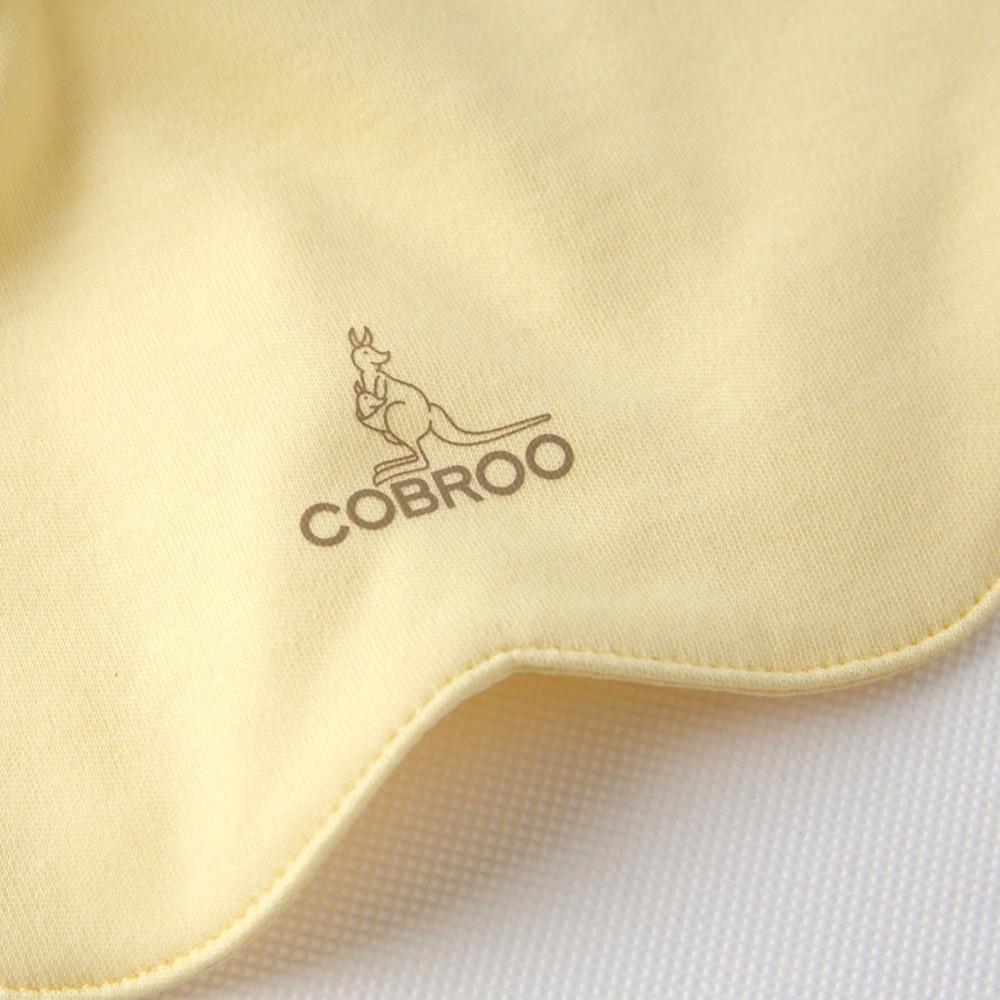 COBROO Śliniak dla niemowląt w jednolitym kolorze Unisex-Baby 100% - Odzież dla niemowląt - Zdjęcie 4