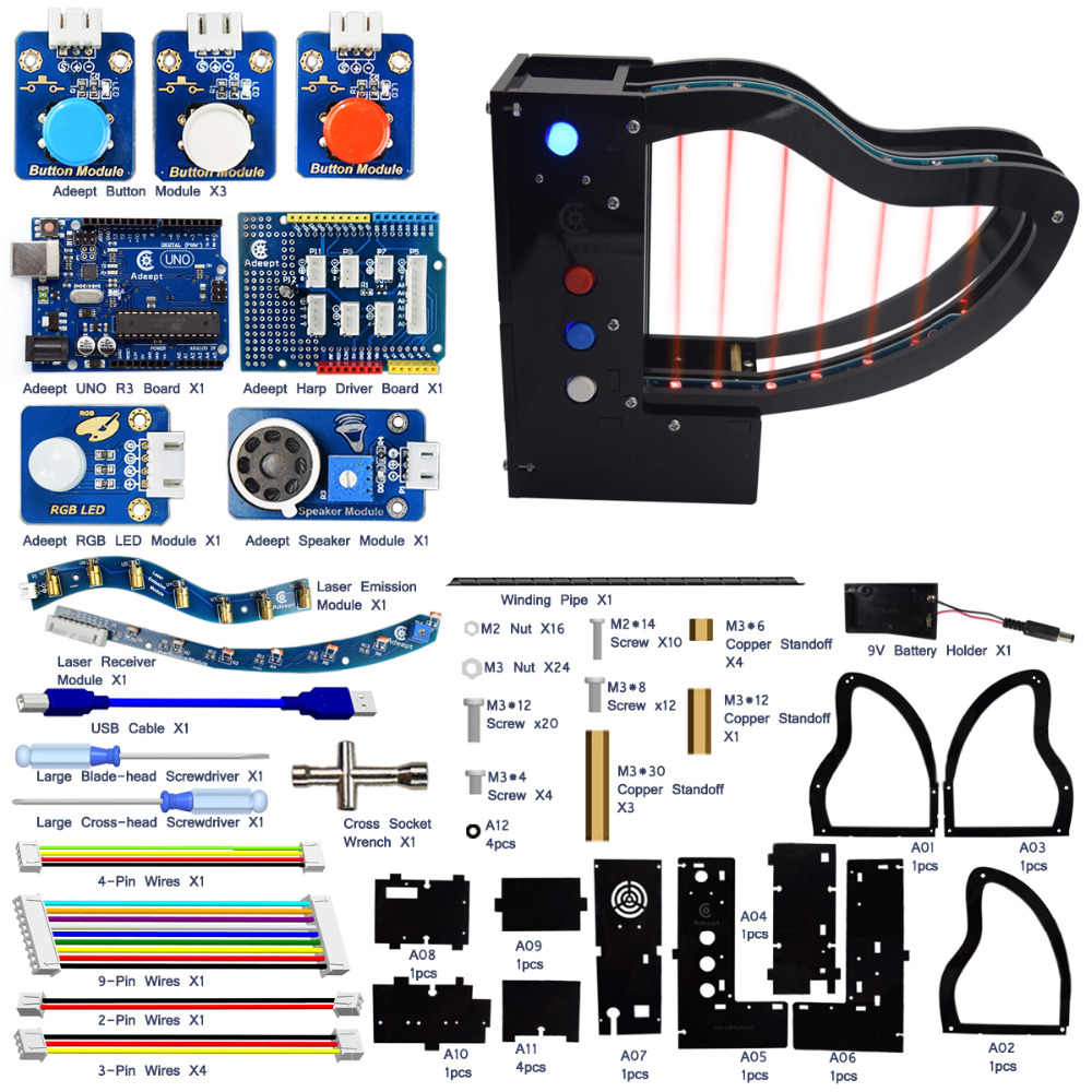 Detail Feedback Questions about Adeept New Arduino UNO R3