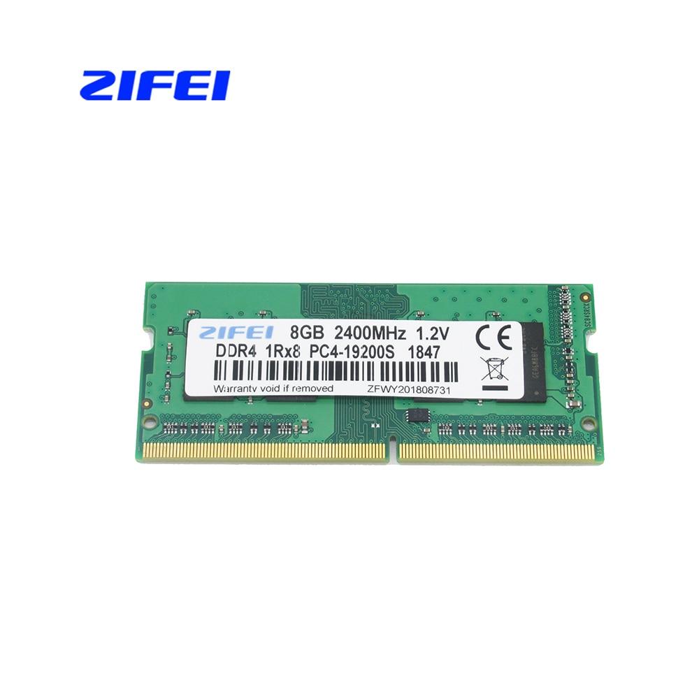 ZIFEI DDR4 8 gb 4 gb 16 gb 2133 2400 mhz so dimm SDRAM Mémoire d'ordinateur portable RAM