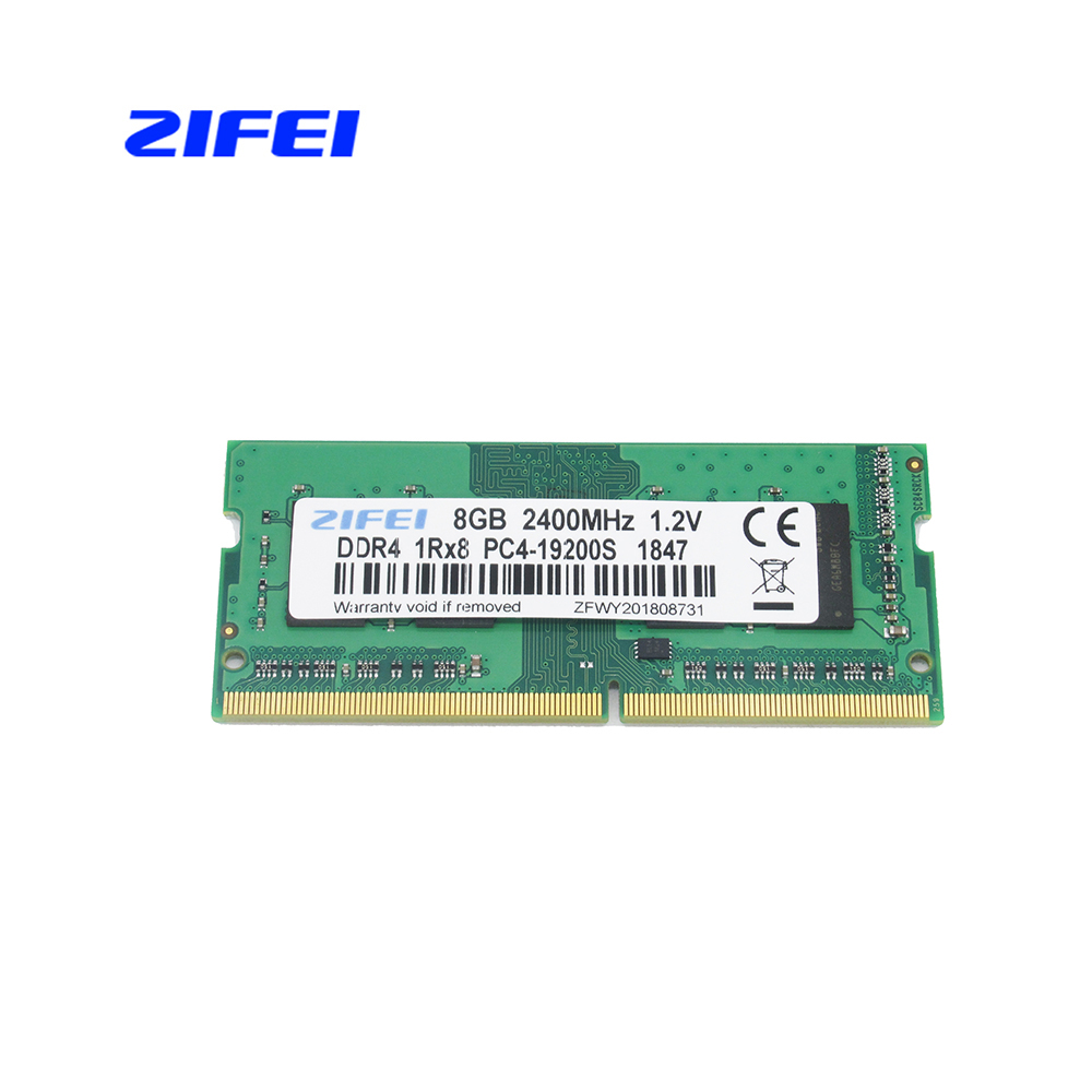 ZIFEI DDR4 8 GB 4 GB 16 GB 2133 2400 MHz so dimm SDRAM ordinateur portable mémoire vive