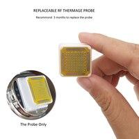 1 Parça Yedek RF Ev Kullanımı için Yüz Masaj Prob Güzellik Kafa Taşınabilir RF Radyo Frekans Thermage Yüz Makine