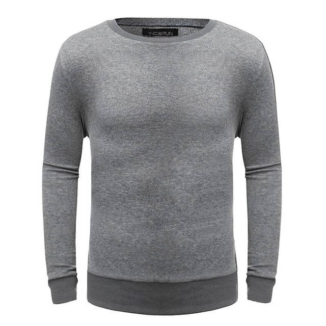 Cashmere Sweater Men 2017 New Arrival Winter Warm Mens Sweaters O-Neck Wool Pullover Men Knitwear Solid Color Pull Plus Size