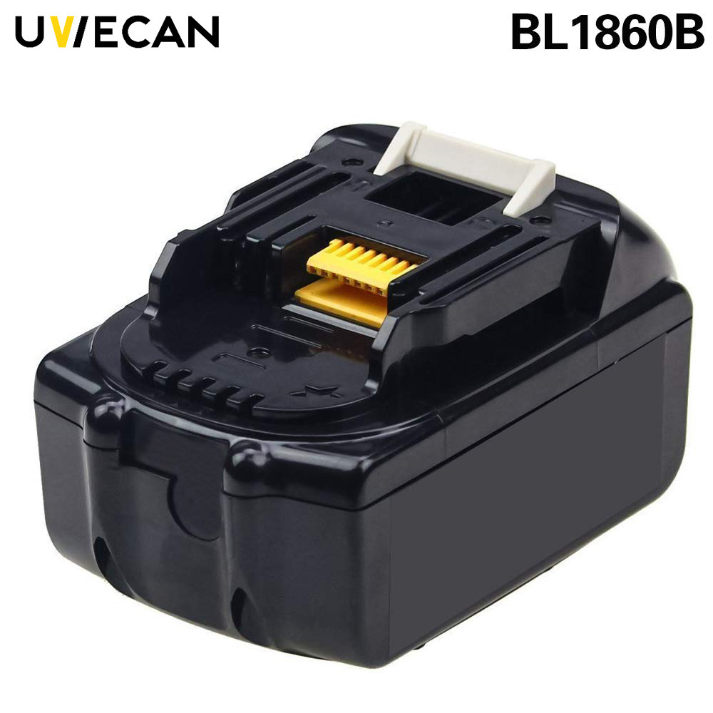 For Makita BL1830 BL1840 BL1845 BL1850 BL1860 18V 6000mAh Lithium Battery