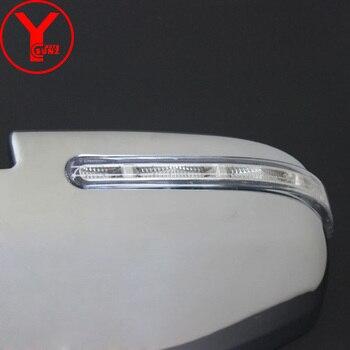 Porta Laterale Della Copertura Dello Specchio LED Per Toyota Fortuner AN160 HILUX SW4 REVO 2015 2016 2017 ABS Styling Auto Ricambi Auto Accessori YCSUNZ