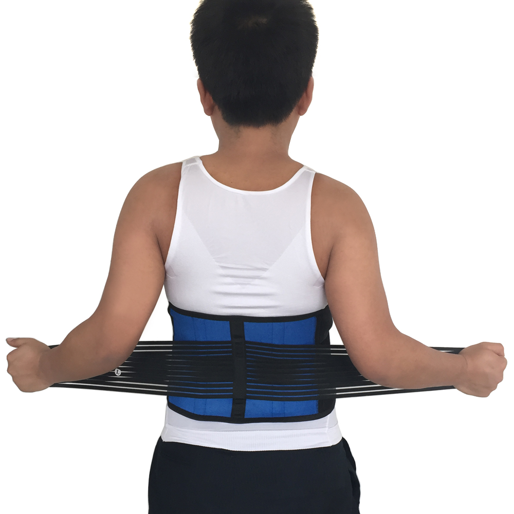 2016 HOT SALE ADJUSTABLE METAL FOR LIFTING PAIN RELIEF BELT SPORT SAFETY MAGNETIC THERAPY WAIST FITNESS LUMBAR BRACE