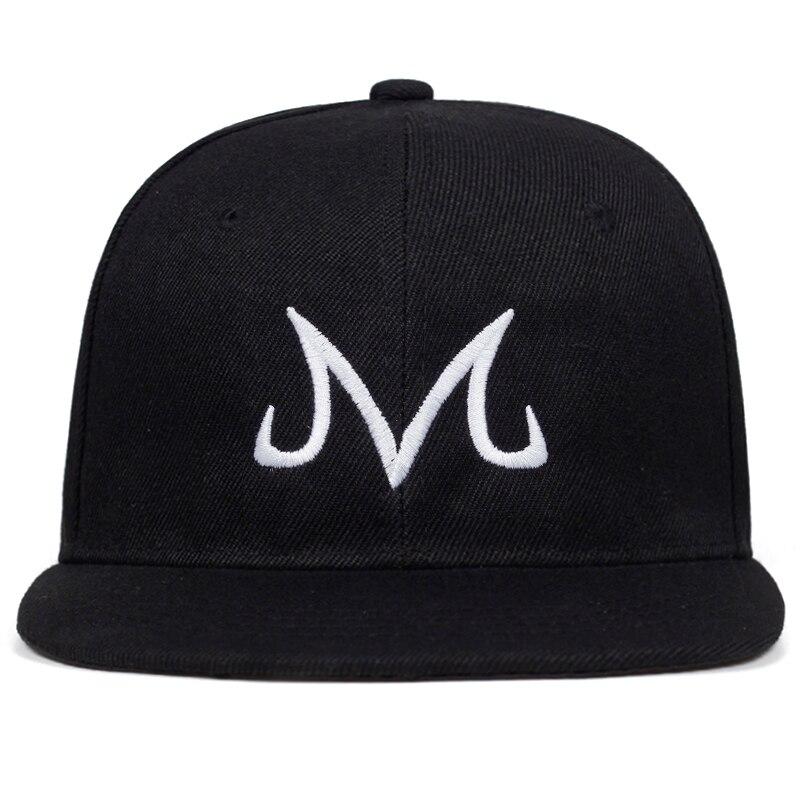 2019 New High Quality Brand Majin Buu Snapback Hat Cotton Baseball Cap For Men Women Hip Hop Snapback Cap Golf Caps Bone Garros