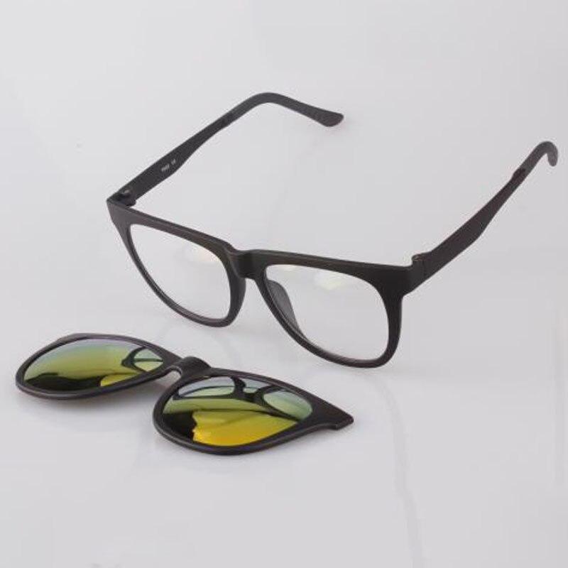 55dab7c82 Topsports الرجال المغناطيسي كليب على النظارات المستقطبة القيادة المغناطيس  الرياضة قصر النظر المرأة النظارات الطبية الإطار