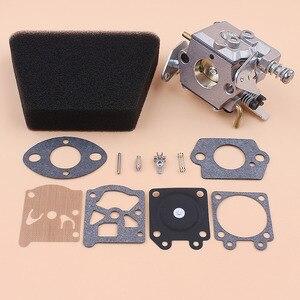Image 4 - Filtro Aria carburatore Kit di Riparazione della Guarnizione Per Mcculloch Mac 335 435 440 Partner 350 351 Motosega Gas Pezzi di Ricambio Walbro 33 29 Carb