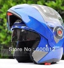 JIEKAI JK105 Off road ОТКРЫТОЕ ЛИЦО Шлем Мотоцикла Мотоцикл Moto Racing шлемы, изготовленные из ABS с синий Цвет размер M, L, XL XXL