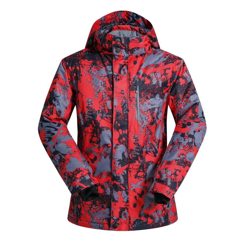 ФОТО Good Quality Snowboard Jacket Men Waterproof Thermal Winter Snow Coat Skiwear Male Sport Camping Skiing Jacket Free Shipping