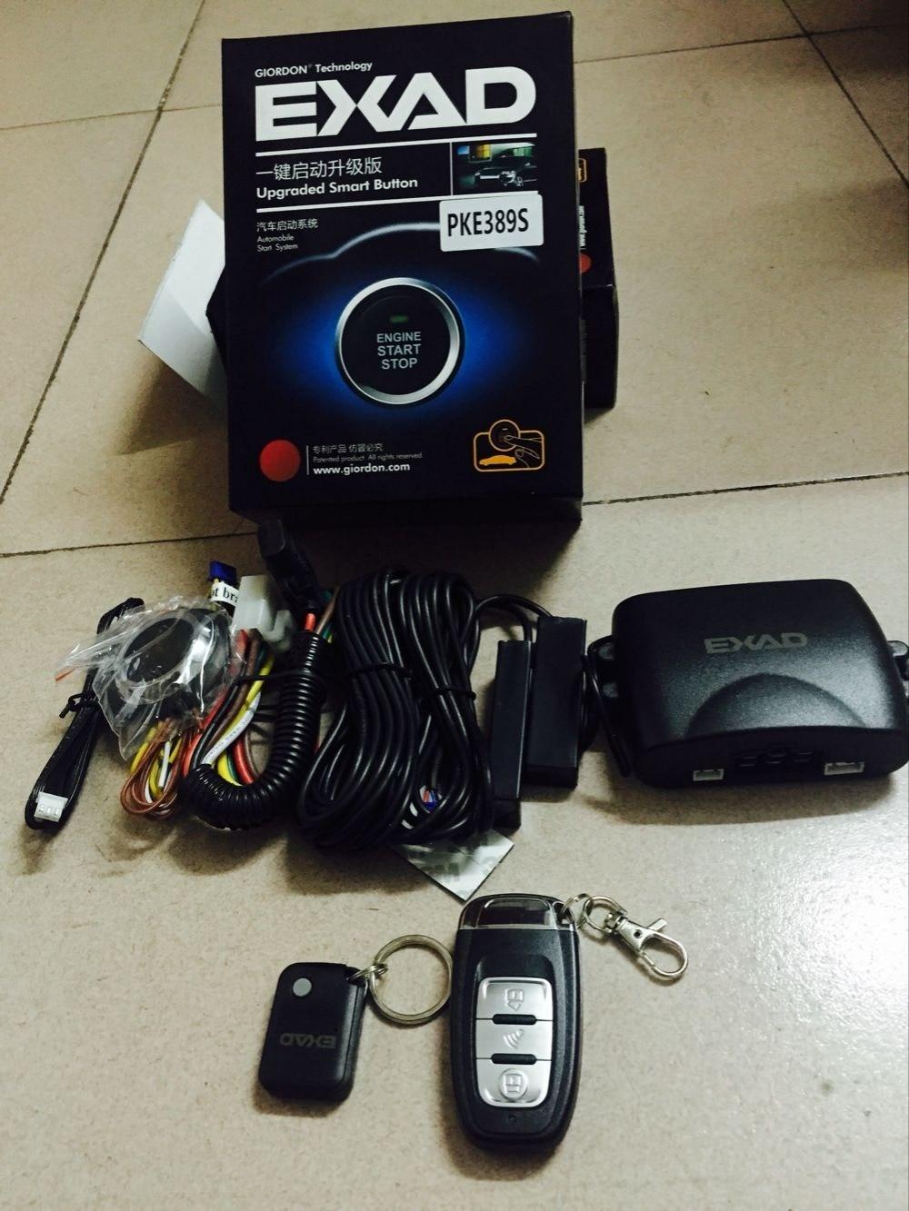 NOVÝ systém automatického alarmu Automatický vstup bez klíče Dálkové spuštění Bezpečnost pro Toyotu BWN Start Funkce Tlačítko motoru s motorem PKE Start Stop