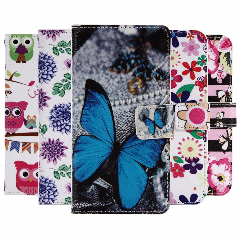 GUCOON Cartoon Wallet Case for Oysters Atlantic 4G 4.5 Fashion PU Leather Lovely Cool Co ...