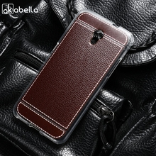 AKABEILA Silicone Phone Cover Case For ZTE BLADE V7 5.2 inch Soft TPU Lichee Mobile Bag