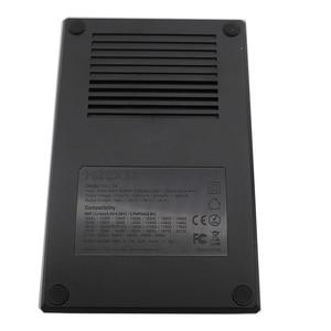 Image 4 - Hurtownie LCD inteligentna ładowarka do akumulatora Miboxer C4 do Li ion IMR ICR LiFePO4 18650 14500 26650 21700 AAA baterie 100 800mAh 1.5A