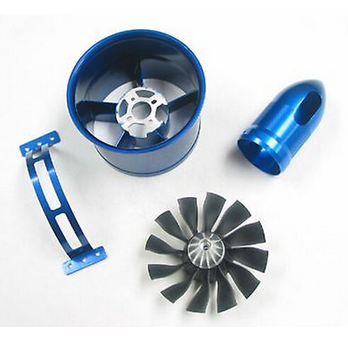 Freewing 90mm 12 Blades Metal Housing Ducted Fan Unit for RC EDF Jets