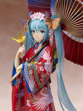Hatsune Miku Kimono Figure PVC